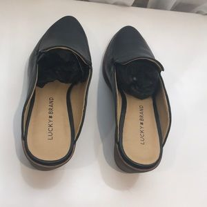 Lucky Brand Shoes - New !🍀Lucky Brand Stacked Heel Loafer Mules